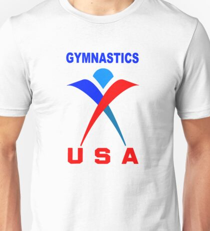 Team USA - Gymnastics Team Unisex T-Shirt