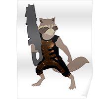 Rocket Raccoon Galaxy Poster