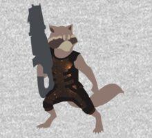 Rocket Raccoon Galaxy by innergeekdesign