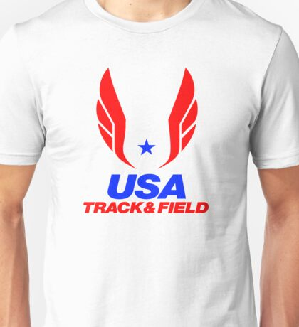 Team USA Track and Field Unisex T-Shirt