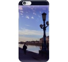 Evening at the Quay iPhone Case/Skin