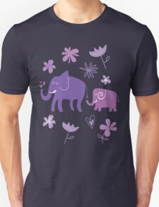 Elephant parent and kid T-Shirt