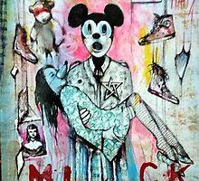 Mickey Cyborg  by John Dicandia  ( JinnDoW )