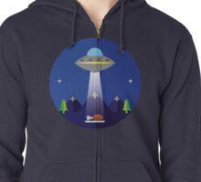 UFO  Zipped Hoodie