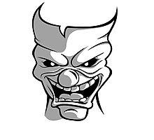Joker Clown Photographic Print