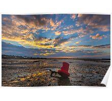 Ryde Sands Red 6 Poster