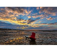 Ryde Sands Red 6 Photographic Print