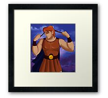 "Hercules - ""As the Diadumenos"" Framed Print"