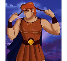 "Hercules - ""As the Diadumenos"" Photographic Print"