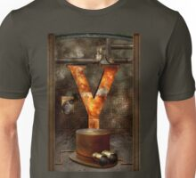 Steampunk - Alphabet - Y is for Yellow Goggles Unisex T-Shirt