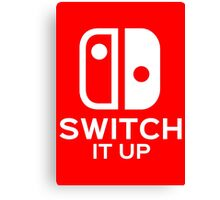 Switch It Up Canvas Print