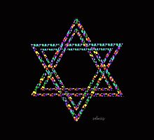 Star of David 20G by mandalafractal