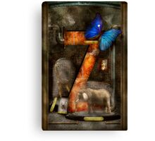 Steampunk - Alphabet - Z is for Zoology Canvas Print
