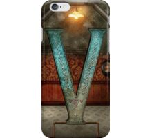 Steampunk - Alphabet - V is for Victorian iPhone Case/Skin