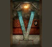 Steampunk - Alphabet - V is for Victorian Unisex T-Shirt