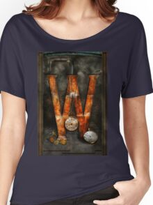 Steampunk - Alphabet - W is for Watches Women's Relaxed Fit T-Shirt