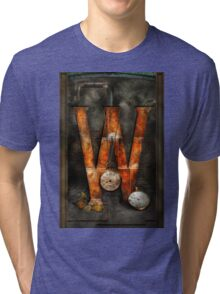 Steampunk - Alphabet - W is for Watches Tri-blend T-Shirt
