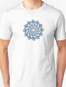 sdd cube or hexahedron Mandala Fractal 2H by sdavis T-Shirt