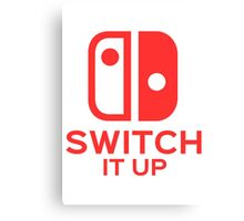 Switch It Up (Inverted) Canvas Print