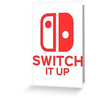 Switch It Up (Inverted) Greeting Card