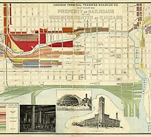 Chicago Railroad Map by AndrewFare