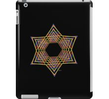 Star of David Mandala Fractal 8H iPad Case/Skin