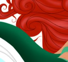 "The Little Mermaid - Ariel ""Flippin' her fins"" Sticker"