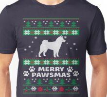 Merry Pawsmas Shiba Inu Dog Christmas T-Shirt Unisex T-Shirt