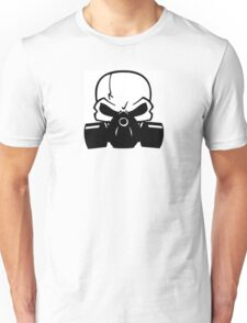 Skull Gasmask Unisex T-Shirt