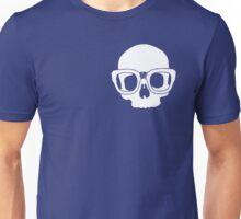 Inner Geek One Color Logo (White) Unisex T-Shirt