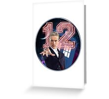 Doctor 12th Greeting Card