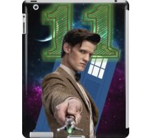 Doctor 11th T-Shirt iPad Case/Skin