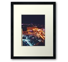 Nighttime Milwaukee Framed Print