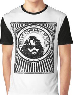 R J MacReady - The Thing Graphic T-Shirt