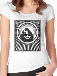 R J MacReady - The Thing Women's Fitted Scoop T-Shirt