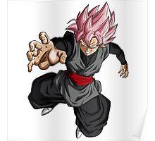 Super Saiyan Rose Goku Black Poster