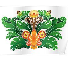 Bali Carving Poster