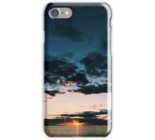 Red Sky at Night iPhone Case/Skin