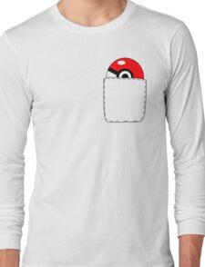 Pokeball Pocket Long Sleeve T-Shirt