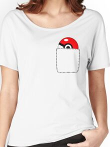 Pokeball Pocket Women's Relaxed Fit T-Shirt