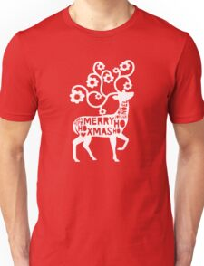 God Jul -  Merry Christmas Scandinavian  Unisex T-Shirt