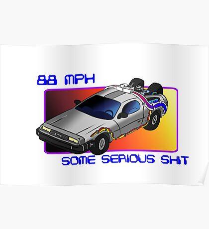 88 MPH Poster