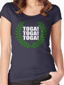 Toga! Toga! Toga! Animal House Women's Fitted Scoop T-Shirt
