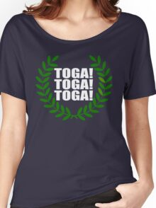 Toga! Toga! Toga! Animal House Women's Relaxed Fit T-Shirt