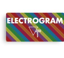 Vinyl Theatre - Electrogram Poster Canvas Print