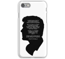 Supernatural - Family don't end in blood iPhone Case/Skin