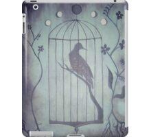 Bird Cage Moon Phases iPad Case/Skin