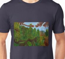 The Lush Landscape of the Columbia River Gorge  Unisex T-Shirt