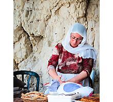 Eastern food stand Photographic Print