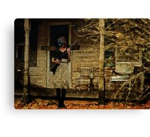 Sentry - Post Apocalyptic Guard Duty Canvas Print